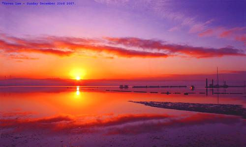 winter sea sky sun france water clouds sunrise reflections brittany atlantic brest explore500 vosplusbellesphotos