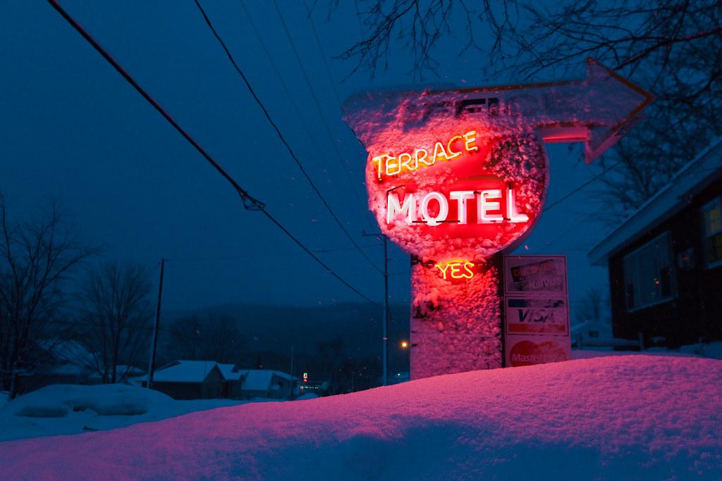 Terrace Motel. Munising, MI