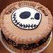 Nightmare Before Christmas Cake by cupcakeology