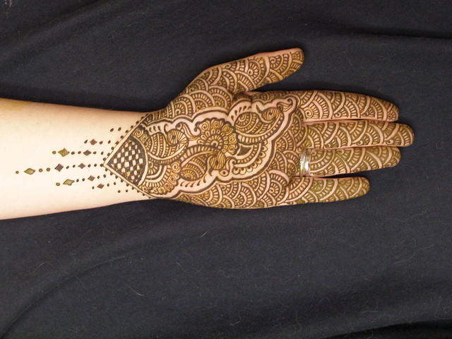 Mehndi Designs Palm : Henna mehndi full palm design flickr photo sharing
