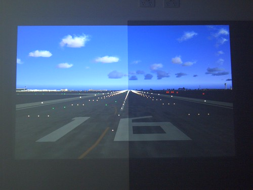 Flightdeck solutions view topic 50 projector paint for Paint projector screen