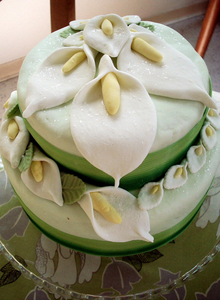 how to make fondant lily