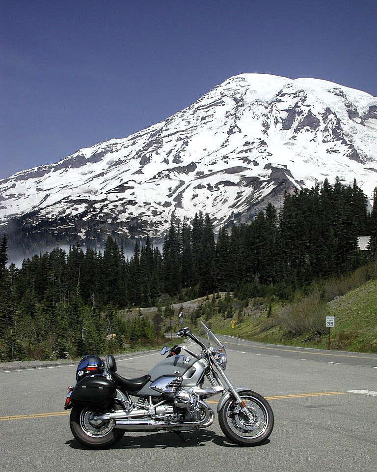 On Rainier w/ my 02R1200c