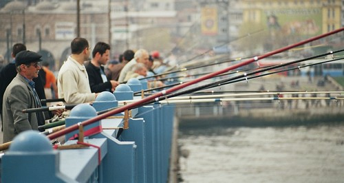 Walk across the Galata Bridge - Things to do in Istanbul