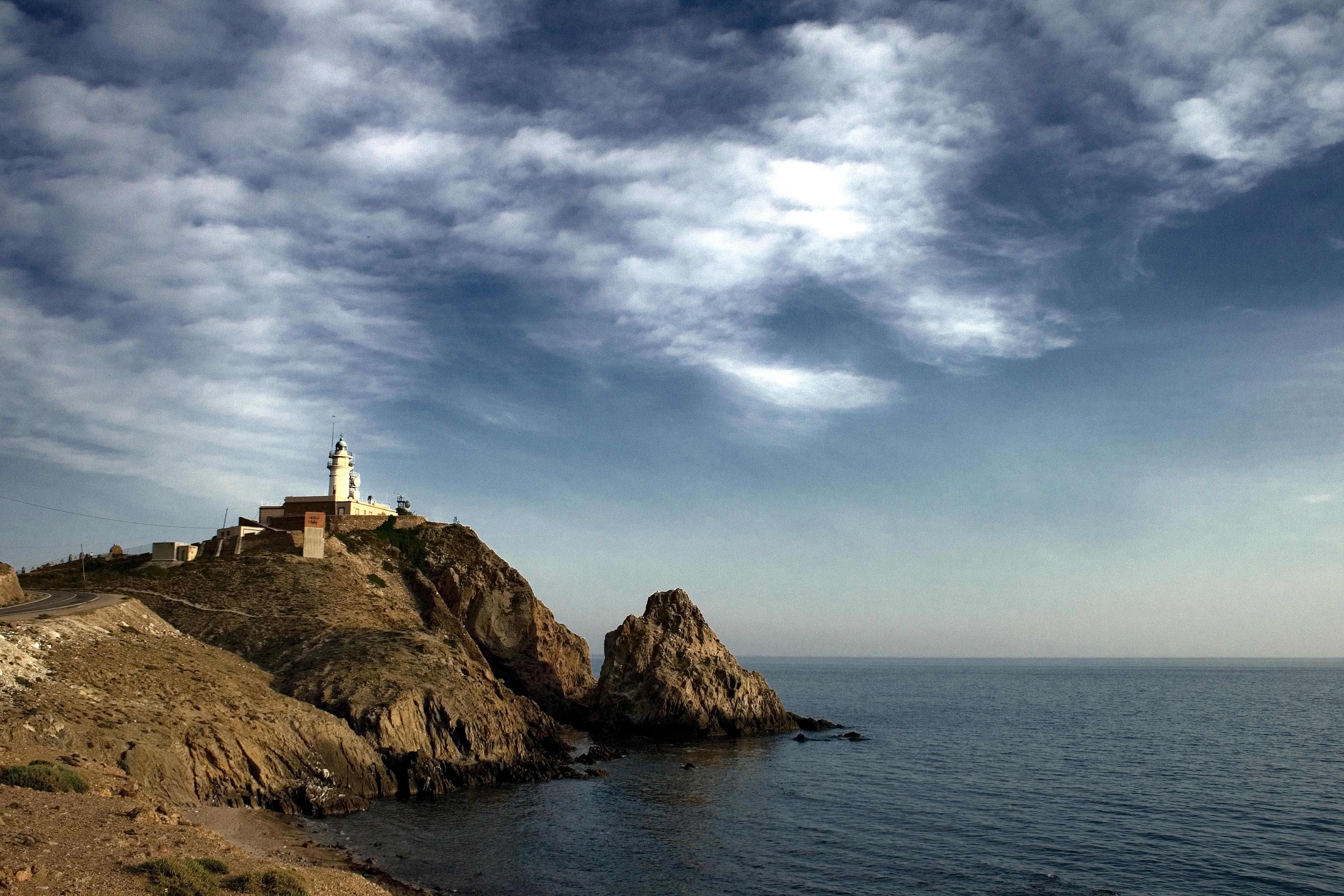 Faro del cabo de gata almer a spain flickr photo for Cabo de gata spain