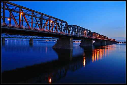 longexposure nightphotography bridge blue nightlights mywinners