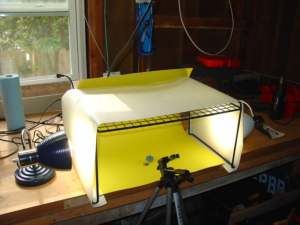 Homebrew Light Tent & Do It Yourself: Make Your Own Light Tent On The Cheap
