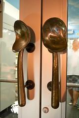 ice cream scoop door handles