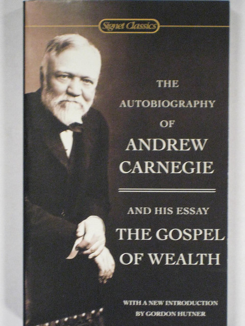 andrew carnegie biography essay Discover librarian-selected research resources on andrew carnegie from  carnegie's essay  tropes and parodies of capitalist biography: carnegie's gospel.