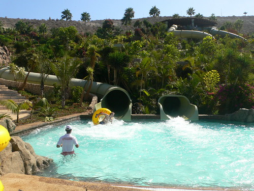 The Jungle Snake at Siam Park, Tenerife