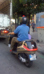 motorcycle(0.0), scooter(1.0), moped(1.0), vehicle(1.0), motorcycling(1.0), vespa(1.0),