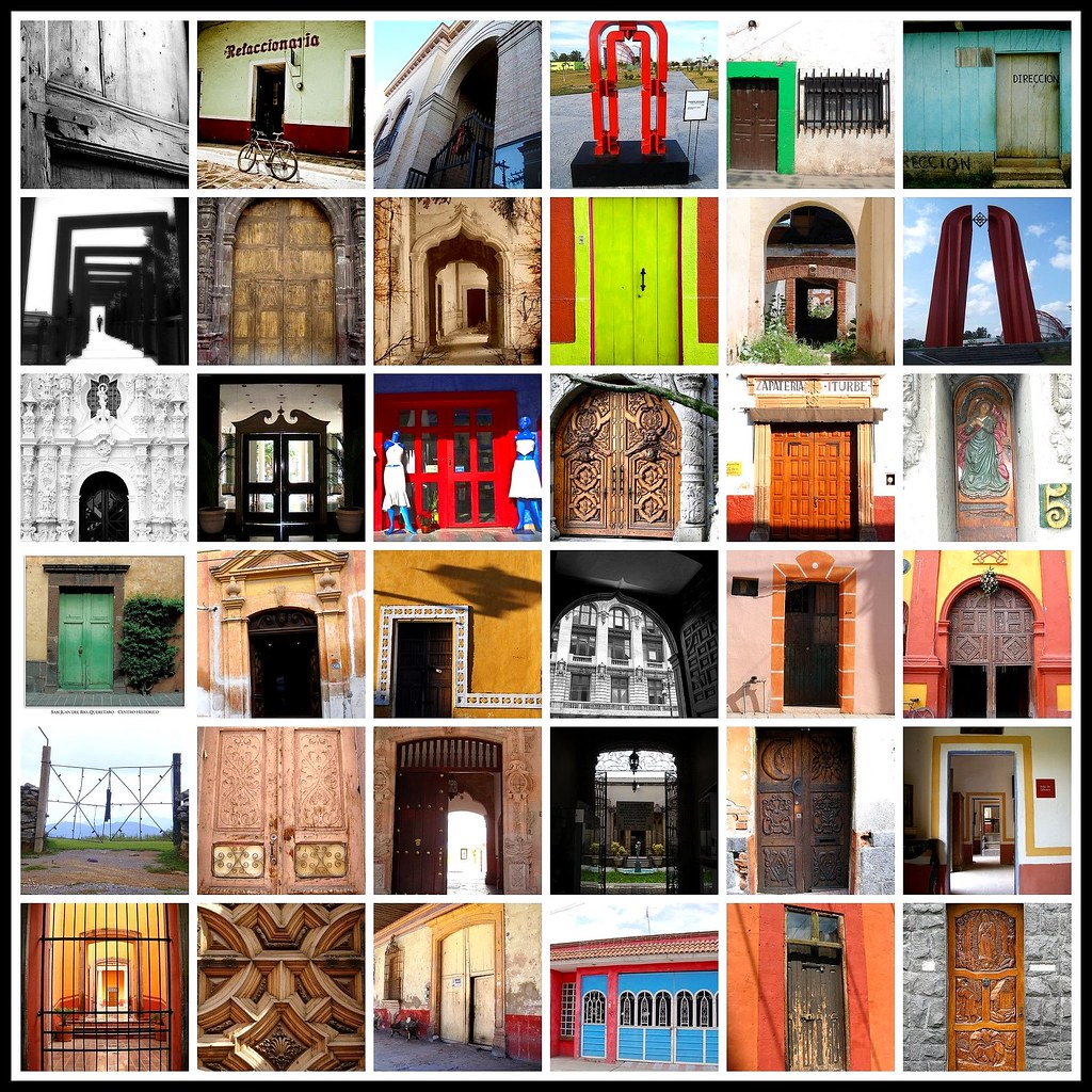 Mosaico de Puertas III - México 2008