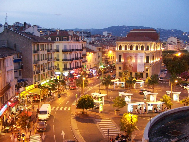 cannes by night flickr photo sharing. Black Bedroom Furniture Sets. Home Design Ideas