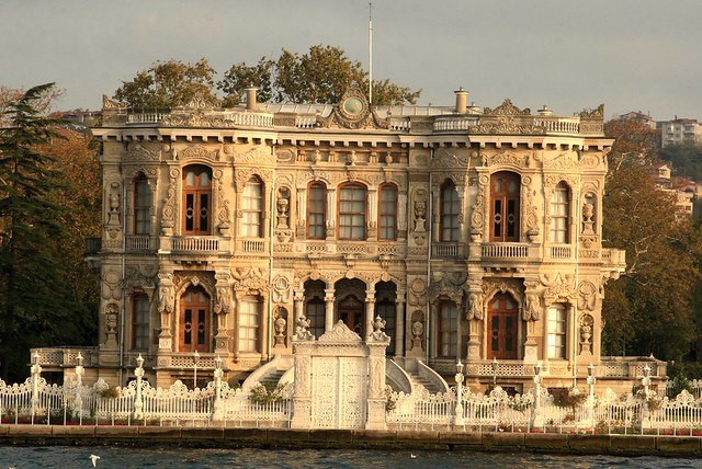 Kucuksu - hunting pavilion of the sultans, in Istanbul ...