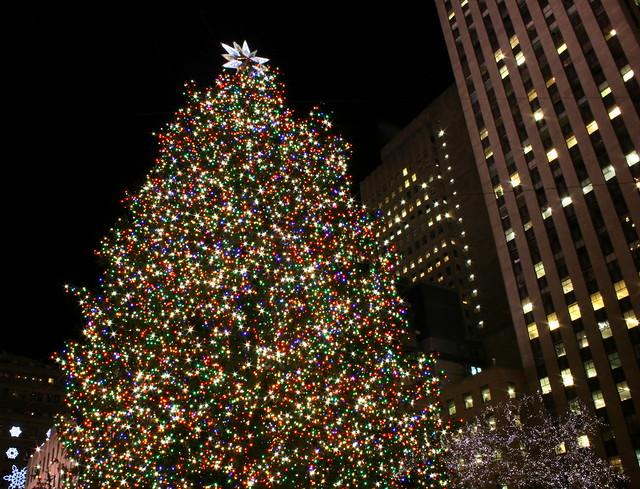 Rockefeller Center Christmas Tree in New York City