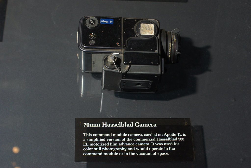Apollo 11 Hasselblad | Photographed Christmas Eve 40 years t