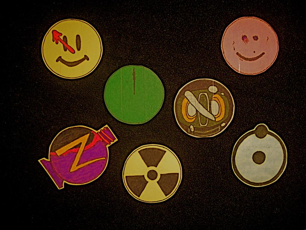 1989 Watchmen Symbols