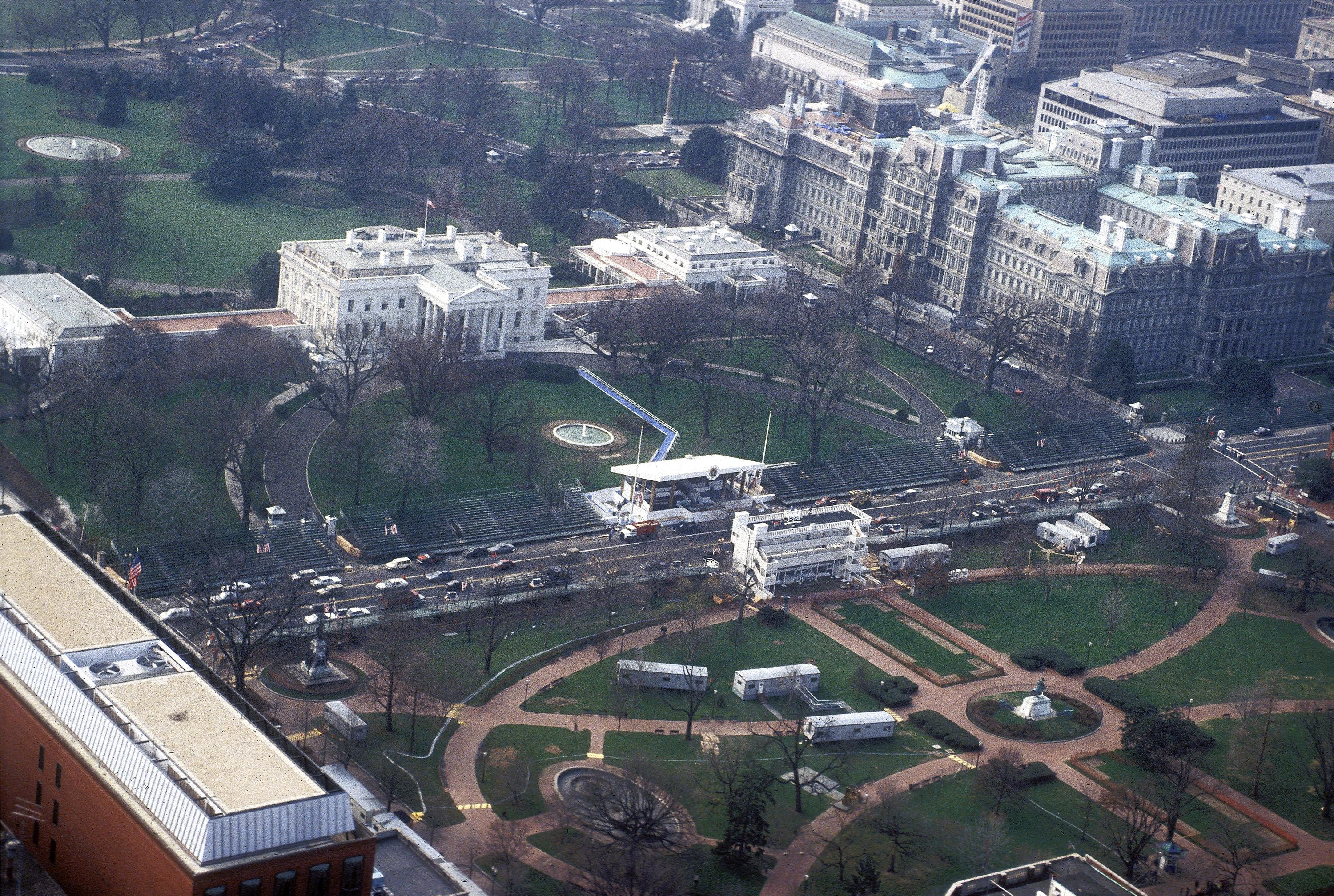 Aerial Photography William J Clinton Presidential