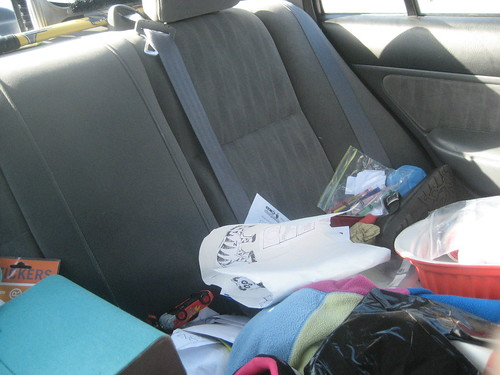 Messy Car