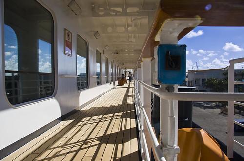 Westerdam Promenade Deck by Phil Comeau