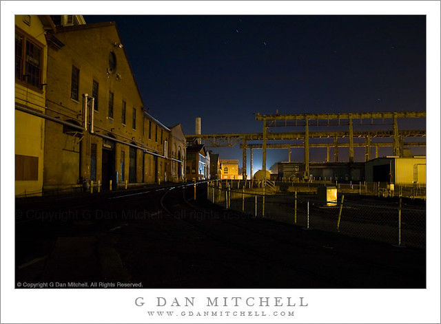 Mare Island Street, Night