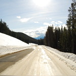 Bow Valley Parkway Ice Road
