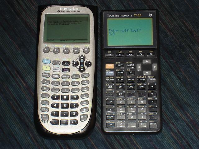 ti-89 titanium and ti-85