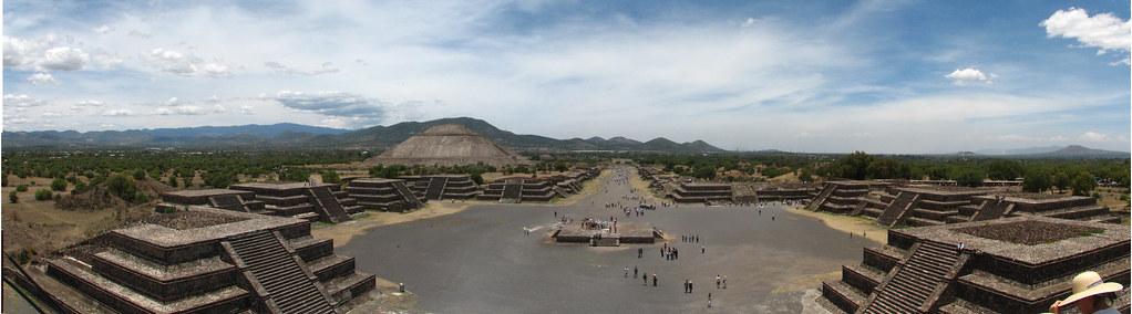 Panorámica Teotihuacán