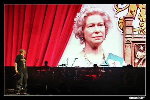 Even the Queen came to see Jay-Z at Glastonbury 2008