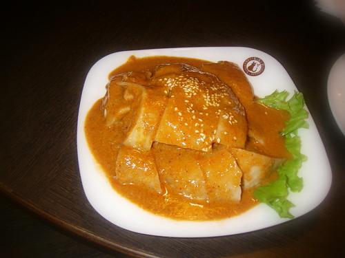 椒麻雞冷盤