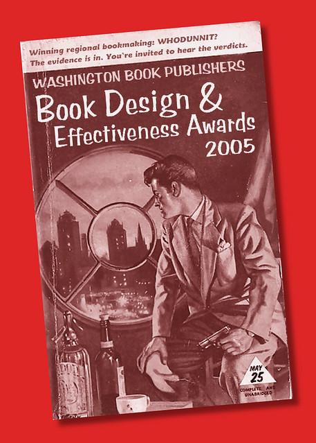 Washington Book Publishers award invitation