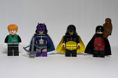 DC Hero Minifigs - Wave 5 by levork