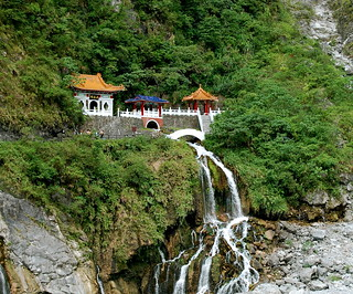 Eternal Spring Shrine at Taroko Gorge