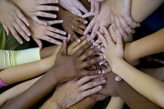 Image of diversity hands