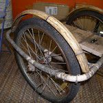 "Wicker/bamboo Trike 20"" wheels"