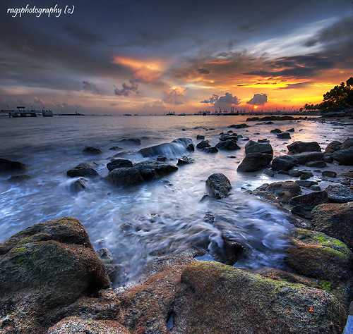 city longexposure morning travel light sunset sea sky people sun seascape color reflection tourism beach water clouds sunrise relax landscape happy dawn landscapes photo google search nikon singapore rocks asia exposure labrador nightshot rags famous culture visit photograph destination dri hdr psb stockphoto blending labradorpark d80 singaporelandscape singaporenightshot goldenvisions ragsphotography singaporeseascape