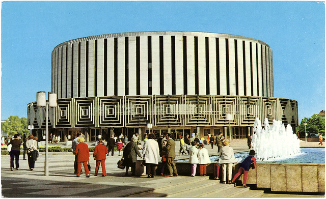 Filmtheater Prager Straße (Rundkino), Dresden, Germany, Seventies