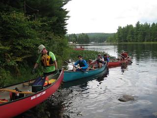 Last Portage. Mattawa Takeout. Last Day. Canadian Canoe Trip 2008
