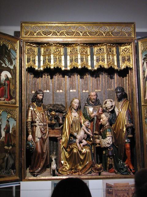 Colegiata de San Cosme y San Damián - Tríptico de la Adora…  Flickr - Photo ...