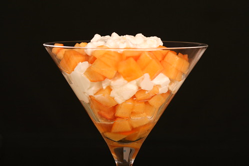 Sharon and cottage cheese dessert / Hurmaa-kodujuustudessert