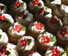 Christmas Cuppies All Lined Up