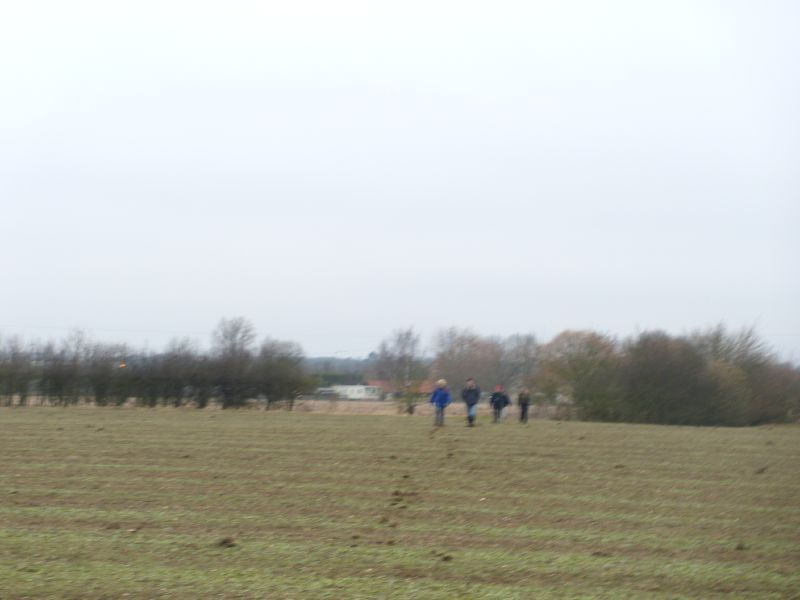 Stuck in the middle.... Reservoir bogged down. Mr Brown, Ms Mudd, Ms Clay and Ms Clart, heading towards the mastermind who chose this walk. Warning... contains scenes of muddy violence,,,,,, and theres no reservoir...OK? Kelvedon circular