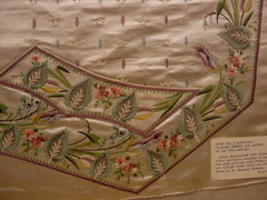 tapestry, art, pattern, textile, needlework, tablecloth, embroidery, design,