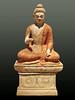 Le premier sermon du Bouddha (musée de Dahlem, Berlin)