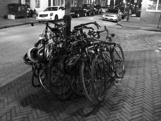 Max's bike pile