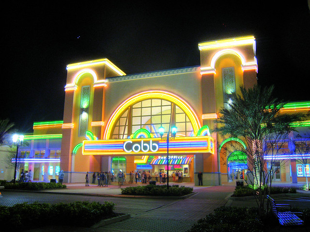 Cobb theatre this is my first attempt at a high dynamic - Cobb theater downtown at the gardens ...