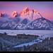 Grand Teton Winter by Chip Phillips