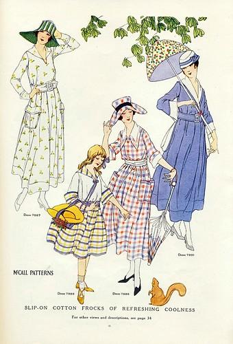 August 1917 Fashion
