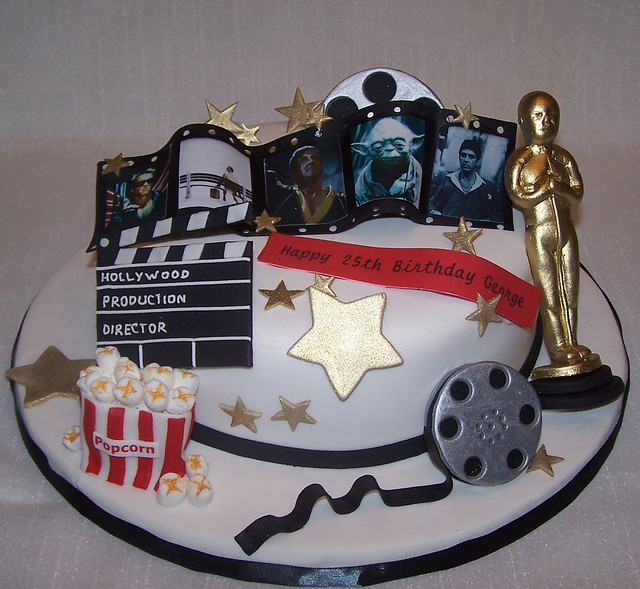 Cake Art Hollywood : Hollywood/Movies Cake - a photo on Flickriver