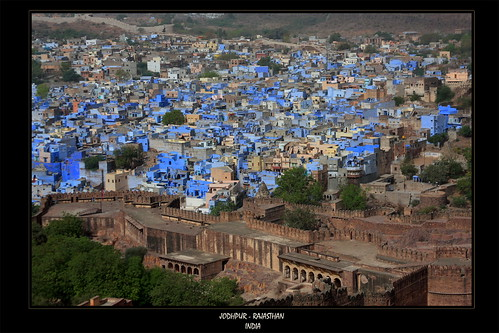 Jodphur - The Blue City!